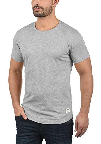 Monument Camiseta Redondo De 2545 Algodón T 100 Con shirt Básica Corta Hombre solid Para Figos Manga Cuello Hw4TqwZ5