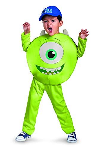 Disney Pixar Monsters University Mike Toddler Classic Costume, 2T