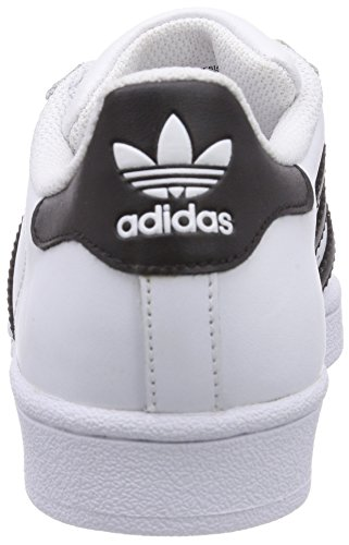 Baskets Blanc Basses adidas Footwear White Originals Black Superstar Footwear Core White Adulte Mixte YxwA4wa
