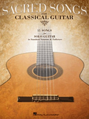 Hal Leonard Sacred Songs For Classical Guitar (Standard Notation & Tab) Songbook (The Wings Guitar Tab)