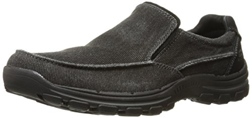 Skechers USA Men's Braver Randon Slip-On Loafer,Black,9.5 D US