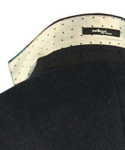 Luciano Natazzi Made in Italy Mens Blazer Canali Camel Hair Sport Coat Navy Blue