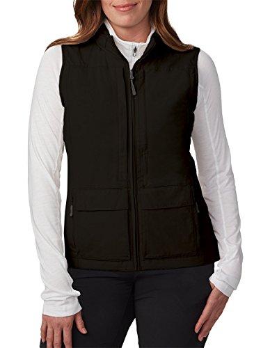 SCOTTeVEST Women's Q.U.E.S.T. Vest - 42 Pockets - Photography, Travel Vest L Black (Quest Vest)