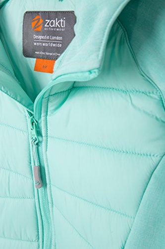 Water Padded Deep Teal Walking Inner Childrens Zakti Fleece Jacket Kids Spring Boys Resistant Travelling Coat Summer Lightweight Neck Flexy Jacket for Raincoat IwHppqER1