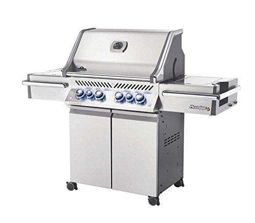 Napoleon Grills Prestige Pro 500 Natural Gas Grill, Stainless Steel Napoleon Grills