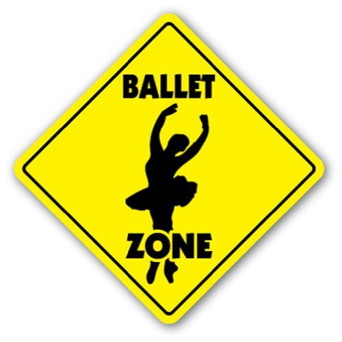 BALLET ZONE Sign xing gift novelty tutu shoes dance nutcracker bar recital