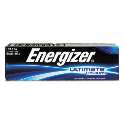 Energizer L91 50 AA Lithium Batteries - Use By 2033 by Energizer