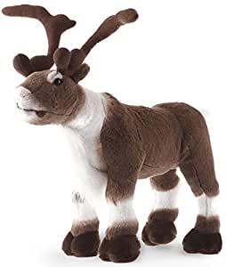Karpok the Caribou | 18 Inch Large Elk Moose Reindeer Stuffed Animal Plush | By VIAHART