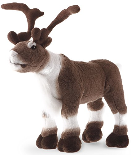 VIAHART Karpok The Caribou | 18 Inch Stag Large Elk Moose Reindeer Stuffed Animal Plush Buck | by Tiger Tale Toys