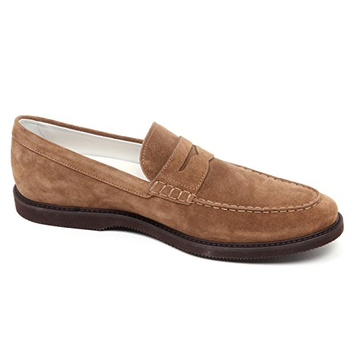 marrone shoe mocassino D2428 loafer HOGAN Chiaro L GUARDALO man CLUB uomo Marrone wOfqRfYU