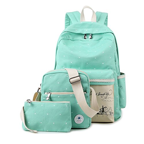 HAOCOO Colorful Unisex Backpack College