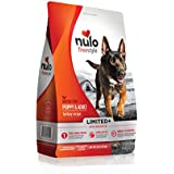 Nulo All Natural Dog Food: Freestyle Limited Plus Grain Free Puppy & Adult Dry Dog Food - Limited Ingredient Diet Digestive & Immune Health - Allergy Sensitive Non GMO Turkey Recipe - 4 lb Bag