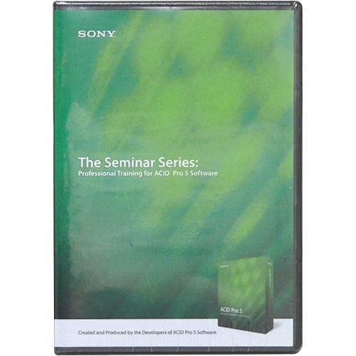 SONY Seminar Series: Professional ACID Pro 5 Sony Media Software (SOAD9) sta1000