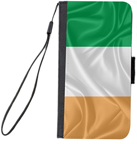 Rikki Knight Premium PU Wallet Flip Case with Kickstand & Magnetic Flap for iPhone 7 - Cote D'ivoire Flag (Cote Divoire Mug)