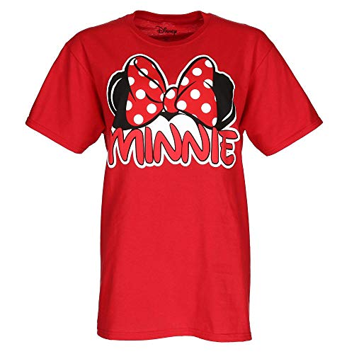 Disney Womens Plus Size Minnie Mouse Bow Tee