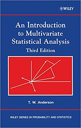 an introduction to multivariate statistical analysis anderson free download