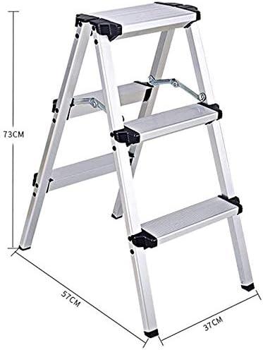HOMRanger Taburete de Aluminio Taburete Plegable Taburete de Escalera multifunción para el hogar (Tamaño: 375773CM): Amazon.es: Hogar