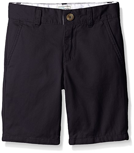 - The Children's Place Boys' Big Uniform Chino Shorts, New Navy, 8