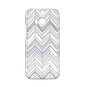Chevron HTC One M8 3D wrap around Case - Design 5