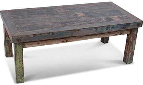 Koh Deco Table Basse Dobo En Bois De Bateau Recycle Amazon Fr