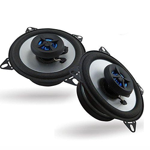 Eaglerich 2 X 4'' inch Car Speaker Automotive Car HIFI Coaxial Speakers by Eaglerich