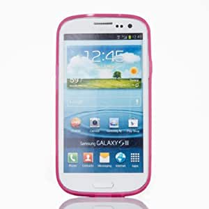 EVERMARKET(TM) Clear Purple Luminous Glow in the Dark Hard Case Cover for Samsung Galaxy S3 I9300