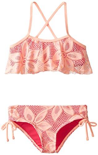 Raisins Girls Girls' Little I Heart U Bikini, Pink, 6X