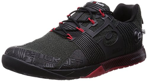 Red Black Nano excellent Fusion Reebok Rcf Pump 6xTT7