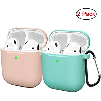 Amazon.com: Airpods Case Protective Silicone Cover and