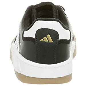 adidas Performance Samba M I Leather Indoor Soccer Shoe (Infant/Toddler),Black/White,10 M US Toddler