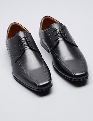 Negro Find Derby Hombre para Black Zapatos xRwqzTRIZ