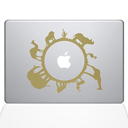 【タイムセール!】 The Decal Guru Vinyl 0193-MAC-15X-G Animal & B0788LFLNM Planet Vinyl Sticker 15 Macbook Pro (2016 & newer) Gold [並行輸入品] B0788LFLNM, 総合ディスカウントモウモウハウス:dfb74d03 --- a0267596.xsph.ru
