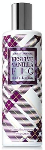 Festive Vanilla Fig - Bath & Body Works Holiday Traditions Festive Vanilla Fig Body Lotion 10 fl oz (295 ml)