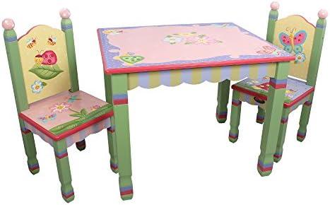 Juego de mesa y silla infantil de madera Magic Garden de ...