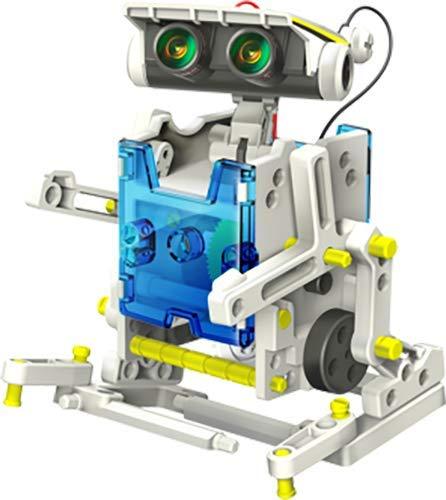 41DEEiTGdpL - Elenco Teach Tech SolarBot.14, Transforming Solar Robot Kit, STEM Learning Toys for Kids 10+