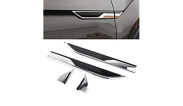 A-PADS Covers for 2009-2017 Dodge RAM 1500 4DR Chrome Door Handle Mirror Tailgate Cover