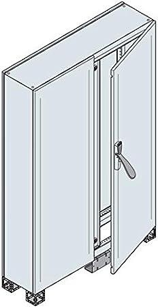 Abb-entrelec am2 - Armario pavimento doble puerta ciega 1800x1200x500mm: Amazon.es: Bricolaje y herramientas