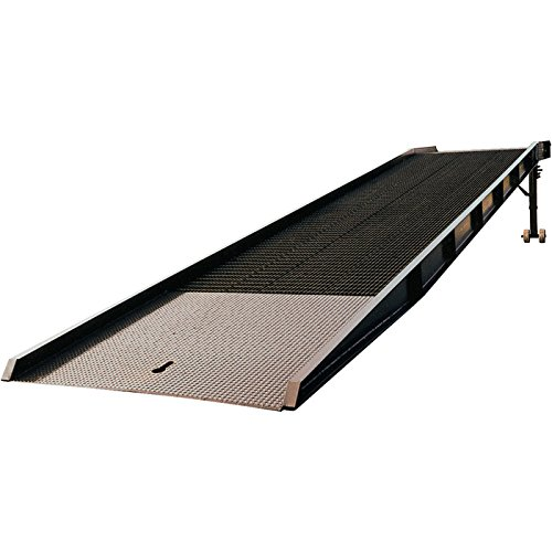 Vestil YR-30-7336 Portable Steel Yard Ramp Overlap Lip wi...
