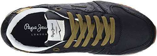 Noir Gable Mars black Jeans 999 Baskets Femme Pepe C4wX67qx