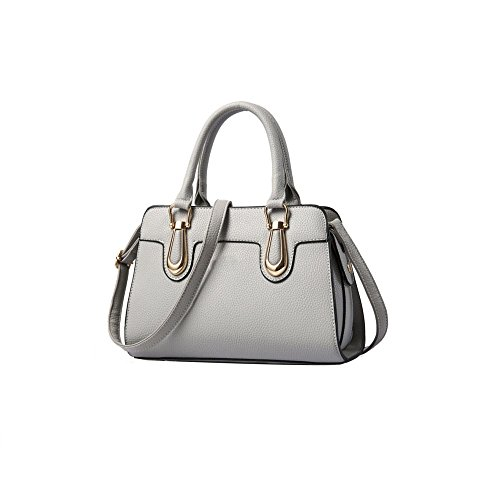 Ajlbt Bandoulière Fashion Ladies Fourre Gray À Casual tout Sac Main rpY5aWr4n