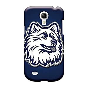 Excellent Hard Cell-phone Cases For Samsung Galaxy S4 Mini With Custom Attractive Uconn Huskies Image WandaDicks