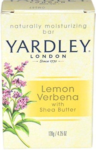 Moisturizing Verbena Lemon (Yardley London Moisturizing Bar Lemon Verbena With Shea Butter 4.25 oz (Pack of 10))