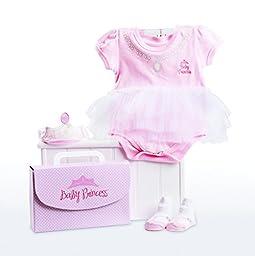Baby Aspen Baby-girls Newborn Big Dreamzzz Princess 3 Piece Set, Multi, 0-6 Months