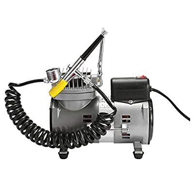 Portable Spray Pump Pen Air Compressor Set for Art Painting Tattoo Craft Cake Spray Model Beautiful Airbrush Kits