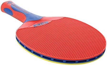 ArgoBa Doble pez de plástico de Tenis de Mesa de un Solo Palo Raqueta de Tenis de Mesa