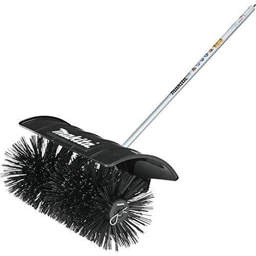 - Makita BR400MP Couple Shaft Bristle Brush Attachment, Black