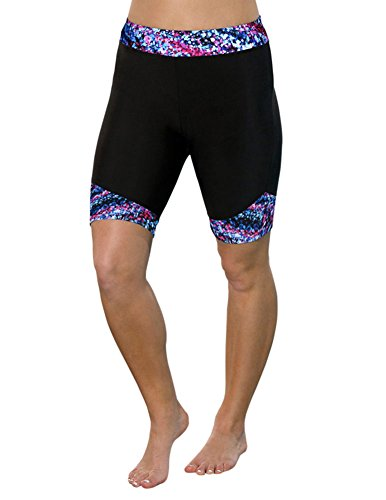 b335469bf4 Aquabelle Women's Plus Size Chlorine Resistant Riptide Long Bike Short 20  Multi - Buy Online in Oman. | Misc. Products in Oman - See Prices, ...