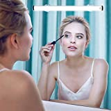 LED Makeup Mirror Lights, Portable Vanity Lights | Simulated Daylight | 4 Brightness Level Touch Control | Rechargeable, Wireless Makeup Lights