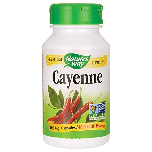 (Cayenne Pepper Nature's Way 100 Caps)