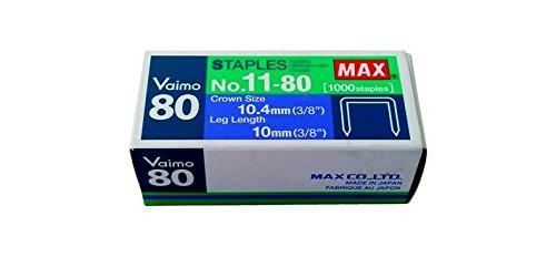 Punti Max 11-80 Per Cucitrice Vaimo 80 Confezioni Da 1000 Punti